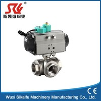 Durable in use stainless steel mini female ball valve with great price