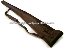 leather gun bag/leather gun cover/leather gun case