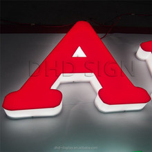 used led signage light backlight acrylic sign boards