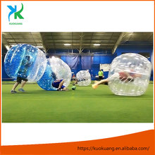 TOP seling inflatable body zorb/bubble soccer / bubble ball for football