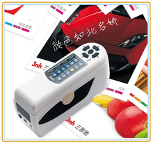 NH310 fruit testing colorimeter color checking equipments for fruit pulps with 8MM 4MM aperture