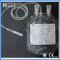 Single 450ml Blood Collection Bag with CPDA-1(rolled bag)