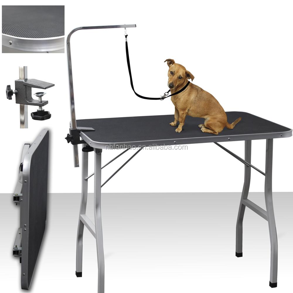 Стол для груминга и стрижки собак: раскладные и сделанные