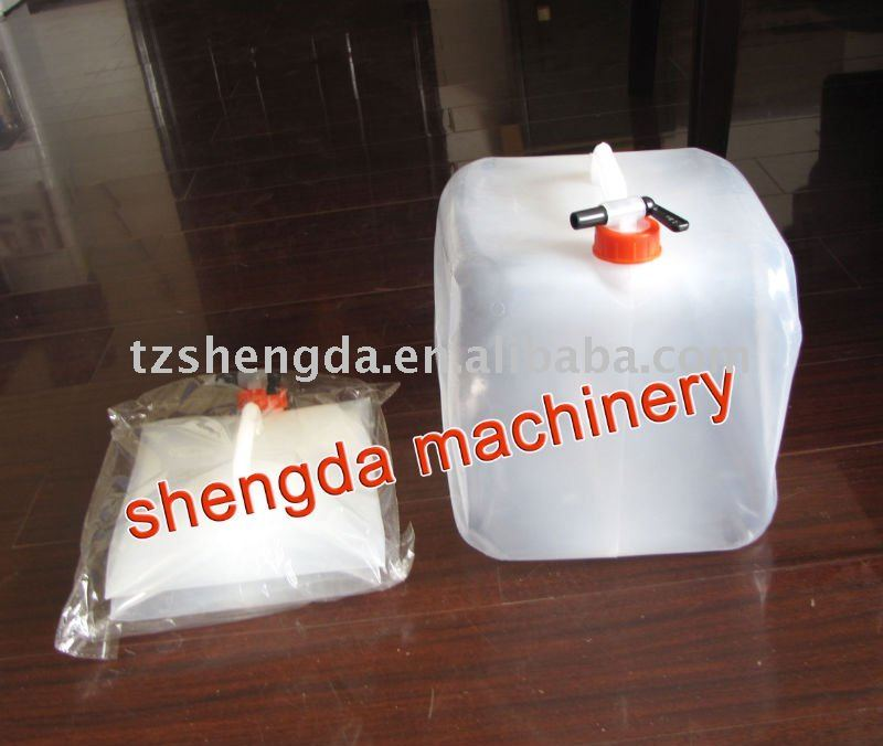 LDPE collapsible jerrycan water bag plastic blow molding machine ZK-70A