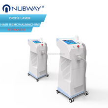 Medical equipments stationary beauty machine laser 808nm diode hair removal for clinic