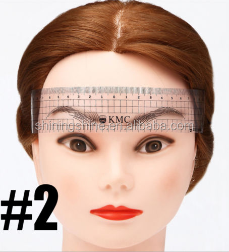 Microblading Permanent Makeup Eyebrow Tattoo Measure Caliper Shaper Guide Rule