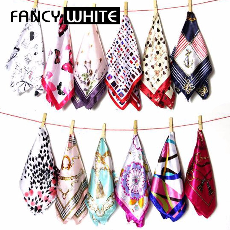 Bulk wholesale no minimum square digital scaves women custom printed silk scarf