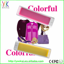 Hot selling promotional gift foc mini universal power bank 2600