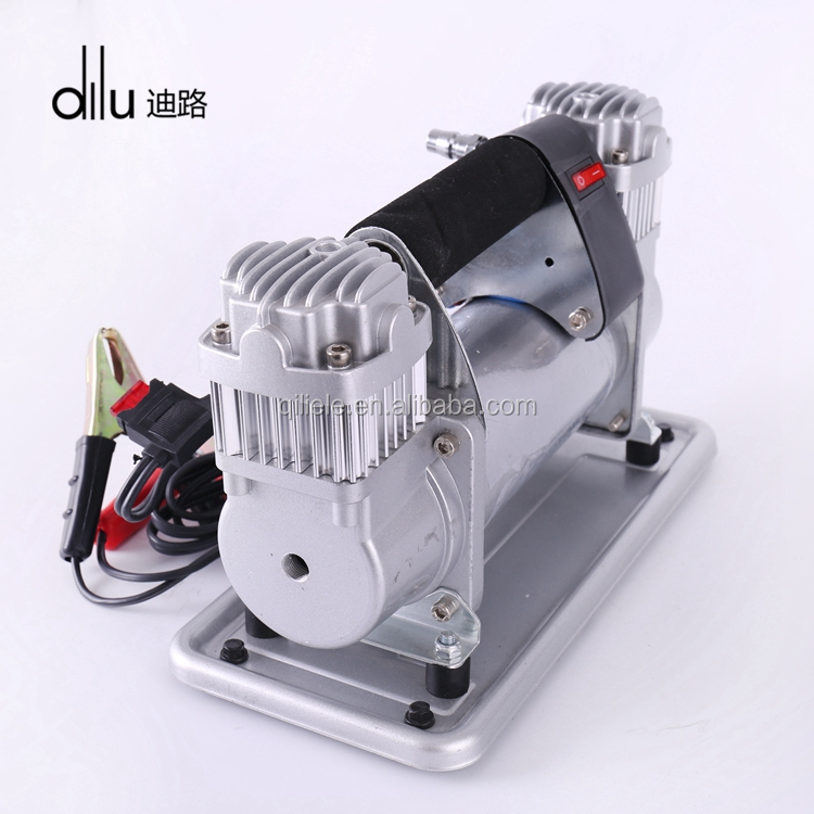 Two mins inflate 16 inches car tire industrial electric dc conditioner portable car 12v air compressor