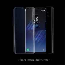 Hot Sale Full Cover 3D Curved TPU Material Clear Screen film 360 Screen Protector for Samsung S8 / S8 plus