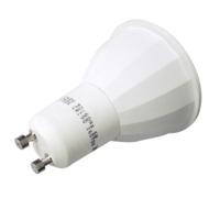 CE/UL/Rohs listed international patent lens 6w COB led spotlight gu10 led bulb