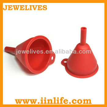 Silicone laboratory and kitchen mini funnel