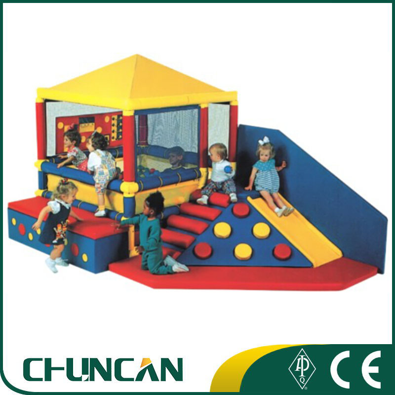 Castle ball pool kids preschool indoor climbing playground soft play <strong>equipment</strong>