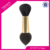 Guangzhou Factory Cheapest OEM Professional 1pcs High Quality black dual end Mermaid Makeup Brush with private logo
