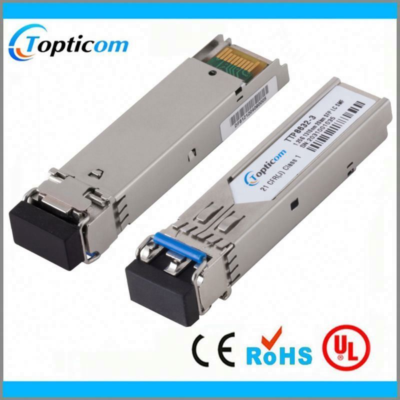 Optical fiber cable joint closure SFP 2x10 pin 1.25g/2.5g optic module SC/UPC receptacle Tx1310nm/Rx 1490nm 20km