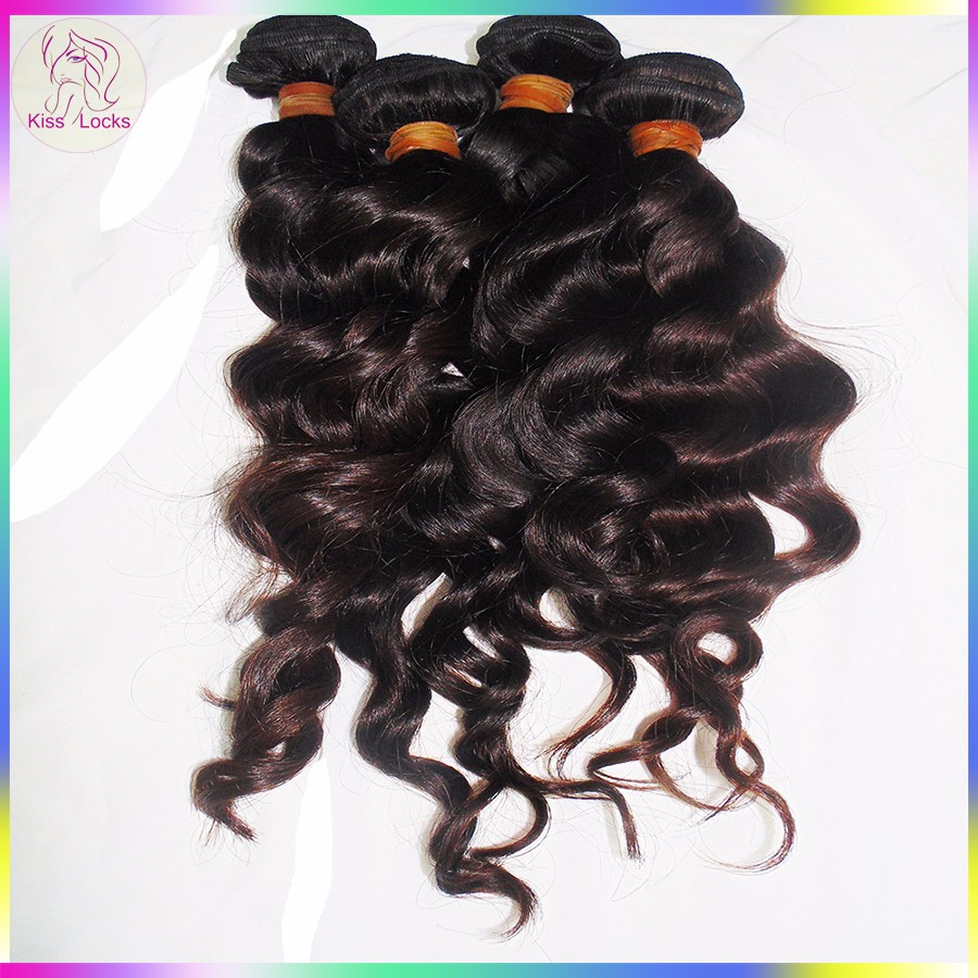 RAW 10A Superior Quality Filipino Loose Deep Wave Virgin Human Hair Weaving Can Be Dyed & Bleached to 613 blonde