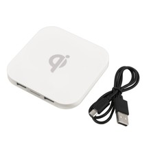 Q8 QI Wireless Charging Pad 2 USB Port Splitter HUB Charger Pad For Phoneest Wholesale