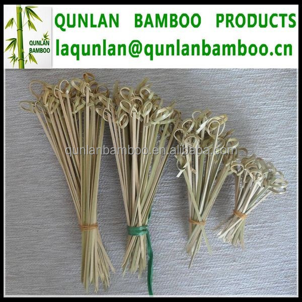 Customized Bamboo Fruit Sticks