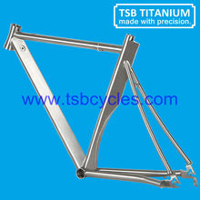 titanium alloy hand made 700C road racing bicycle frame TSB-T1001