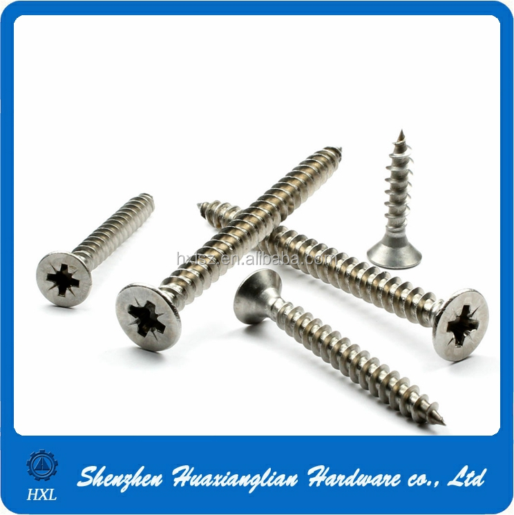 Many types of 2mm-12mm brass/stainless steel zinc coated black self tapping screw