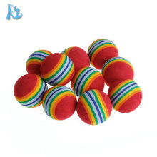 Cheap Wholesale Pet Cat Ball Toy Crazy Colorful EVA Pet Toys Ball