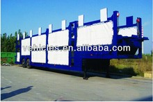 small car carrier trailer for 6-24 units loading