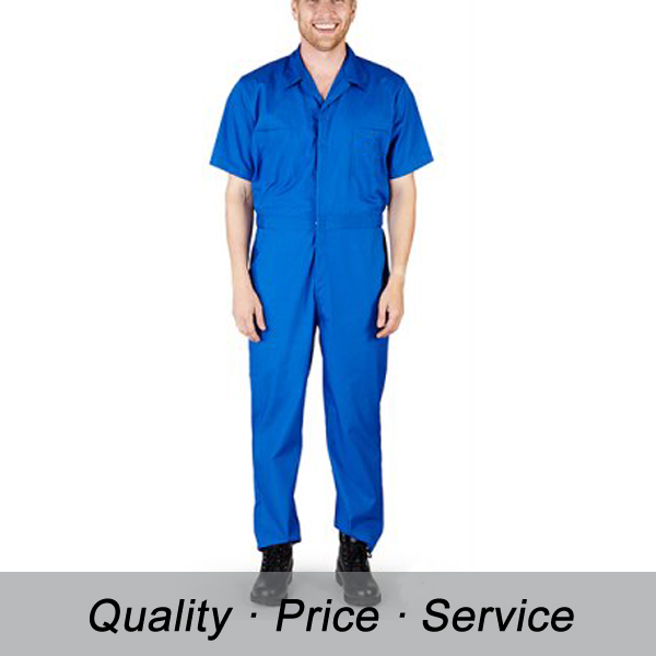 Factory mechanic heat proof work suit for men