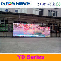 truck outdoor full color led display screen/mobile portable rental led display