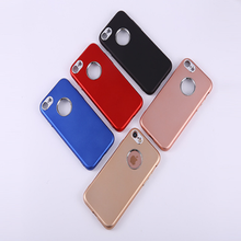 2017 hotsale case for Apple iPhone 7 7plus 6 6s plus 5 5s Se Silicone Matte Phone Cover Cases