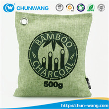 Natural Activated Bamboo Charcoal Bag Deodorant Bag Air Freshener for Home