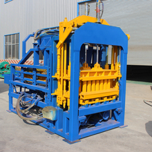Fully automatic concrete hollow soil brick making machine price for sale