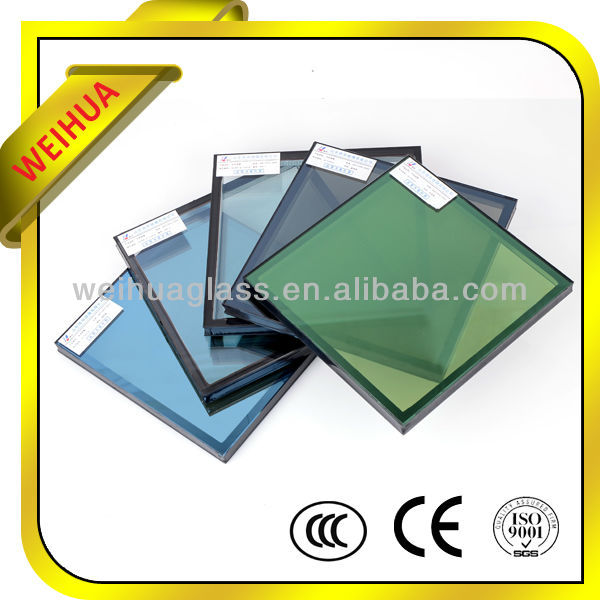 China Factory Hot Sale Price Insulated Low-e Glass for building with CE/CCC/SGS/ISO