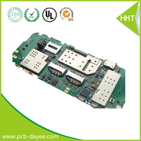Lost cost customized mobile phone motherboard pcb/pcba assembly Shenzhen