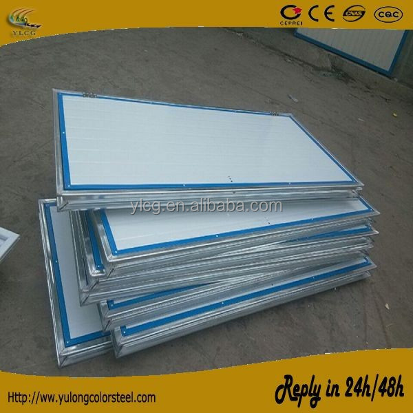 1000mm width 2000mm heigth metal sheet coated eps sandwich panel door