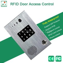 Remote control electric door lock with keypad rfid access control system