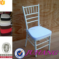 used white tiffany chiavari chair with cushion manufacturers