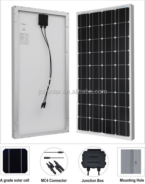 100W monocrystalline solar <strong>energy</strong> product, panel solar 1000w sytem manufacturers