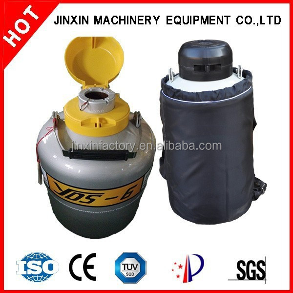 YDS-6 best selling small biological liquid nitrogen container