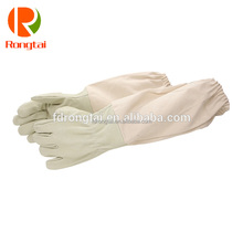 Long sleeve leather beekeeper gloves , Bee Protective Gloves