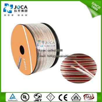 Good quality CCA speaker cable BC flat speaker cable