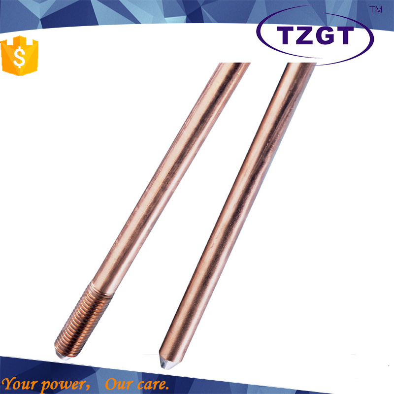 hot product high strength copper earth rod