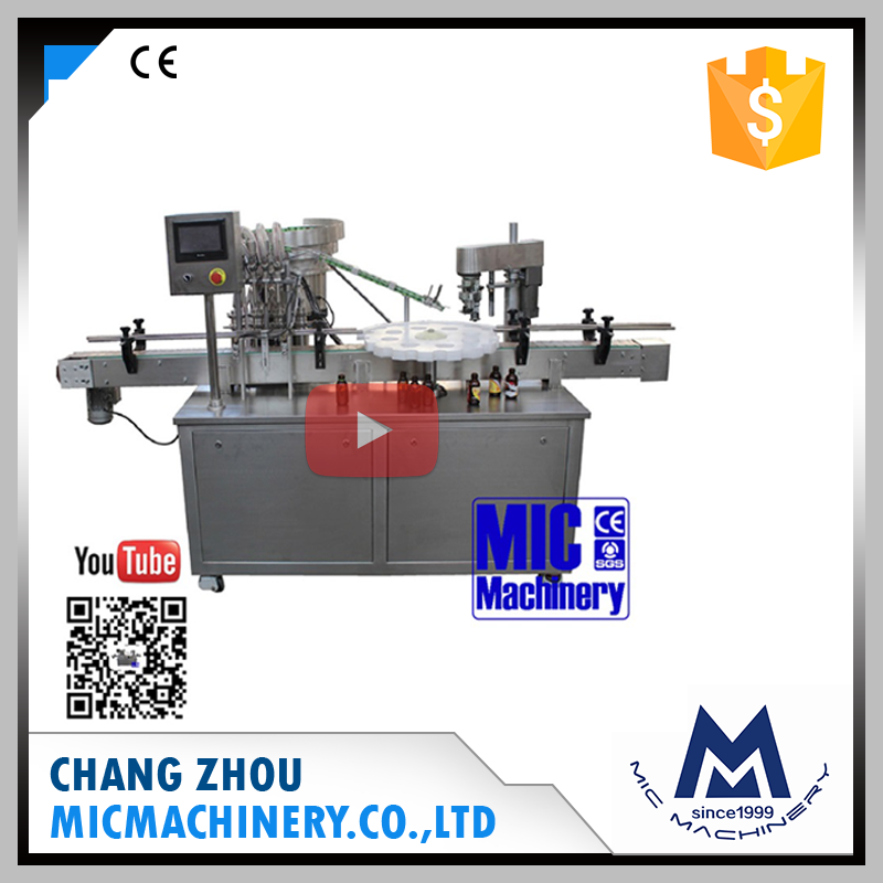 Micmachinery L-40 export Europe widely used liquid bottle filling machine with CE certification