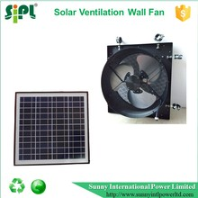 New solar appliance 12 inch axial type air exhaust heat extractor fan for home ventilation