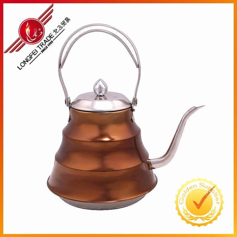 High Quality Antique Style Stainless Steel Water Pot