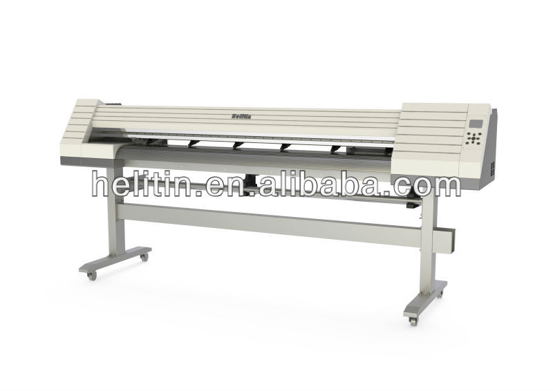 plotter inkjet, solvent printer for outdoor printing 1440DPI used for outdoor printing