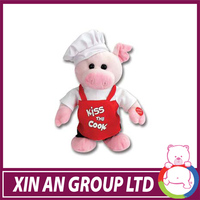 Promotion Custom Top Quality pink plush pig