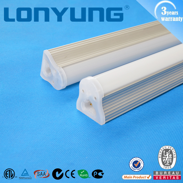 2016 new heat dissipation sink alloy body led t8 intergrated linear fluorescent lamp