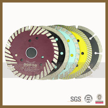 2016 hot Countinuous Turbo samll Blade For hard to medium stone materials cutting