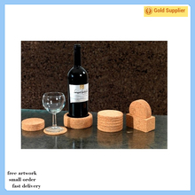 promotional cheap wedding souvenirs wine round coaster