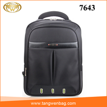 2016 new own design metal logo custom waterproof laptop backpack bags